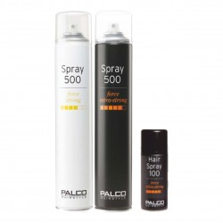 Sada lakov Palco Hair Spray Strong 500 ml + Hair Spray Extra Strong 500 ml + Hair Spray Extra Strong 100 ml