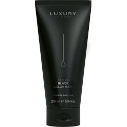 Farebná maska ​​na vlasy Green Light Luxury Reflex BLACK 200 ml